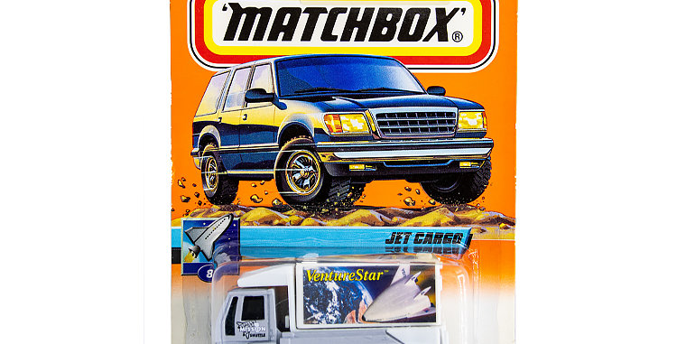 Matchbox Cars Jet Cargo  Marked 1999