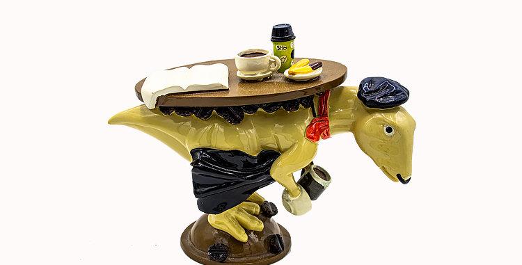 Dino Days Waiter Dino Porcelain Figurine