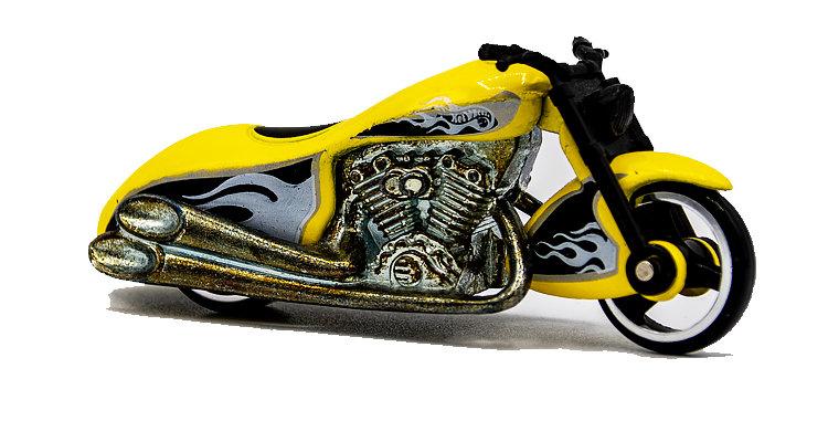 Hot Wheels Motorcycle Loose