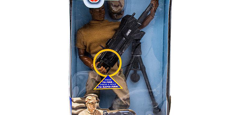 GI Joe 12 Inch   40 MM Genade Machine Gunner