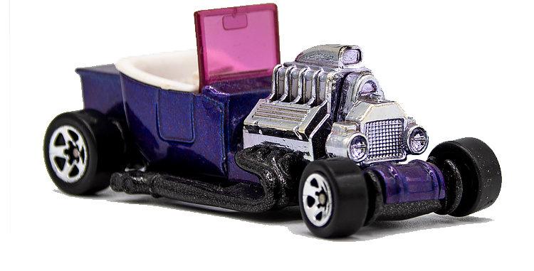 Hot Wheels Loose Purple Hot Rod