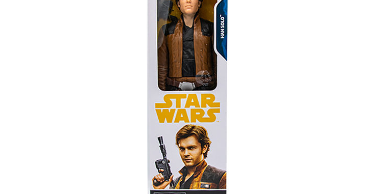 Star Wars 12 Inch Young Han Solo