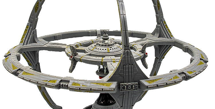 Star Trek Deep Space Nine Space Station Loose