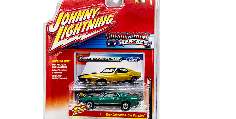 Johnny Lightning Muscle Cars USA 2016  #6 1970 Ford Mustang Mach 1