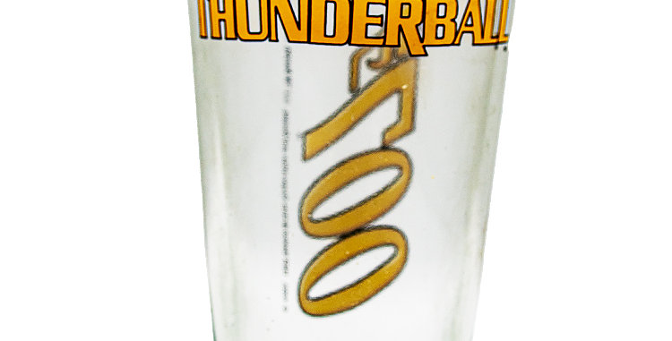Glassware Glass James Bond 007 Thunder Ball
