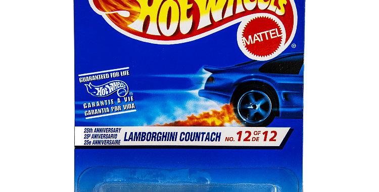 Hot Wheels  25th Anniversary Lamborghini Countach