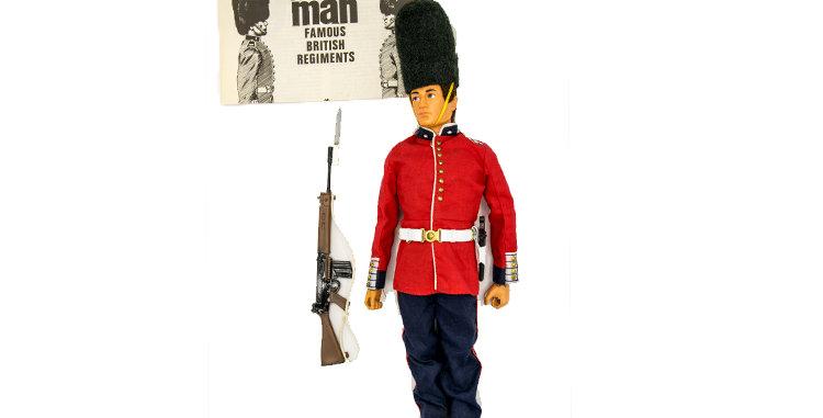 GI Joe Vintage Action Man Guardsman