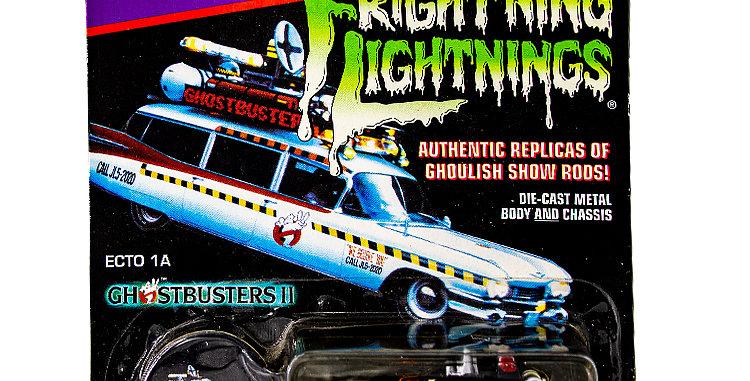 Johnny Lightning Frightning Lightning Ghostbusters Ecto 1A