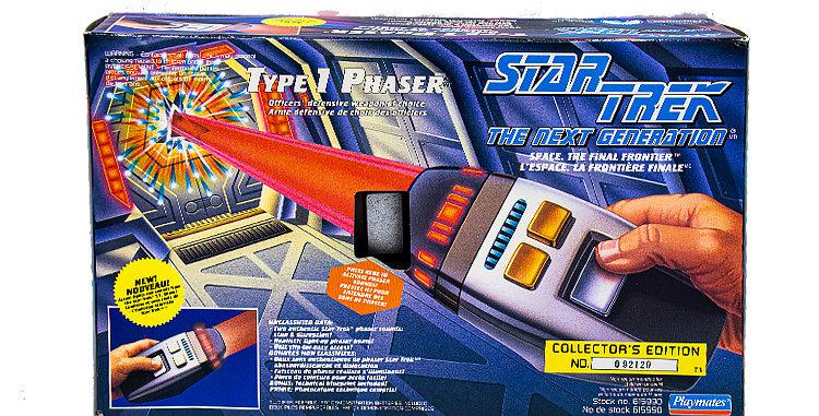 Star Trek Next Gen Type 1 Phaser Toy Prop