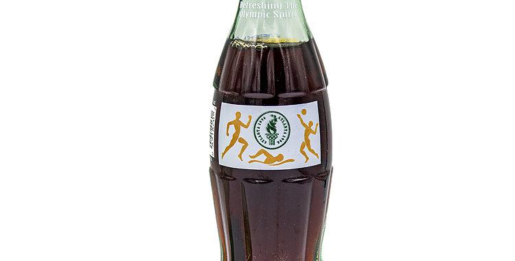 Coca Cola Coke Glass Bottle Atlanta 1996  Olympics