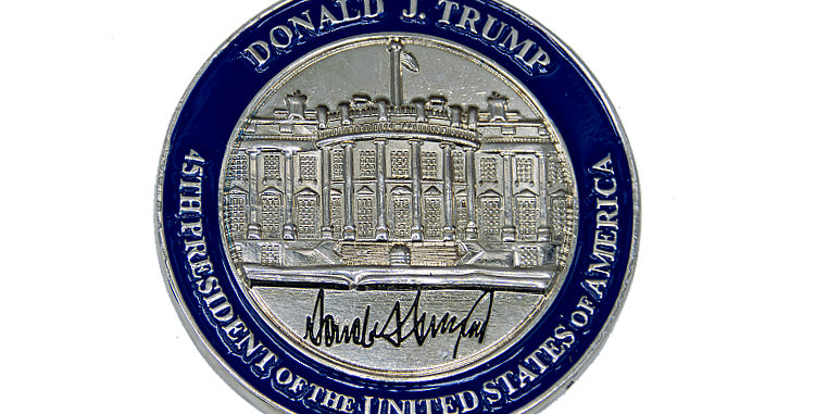 Challenge Coin President Trump