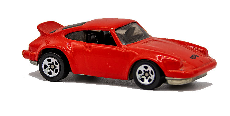 Hot Wheels Loose Red Porche