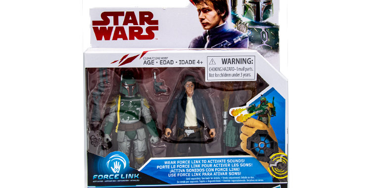 Han Solo and Boba Fett Force Link