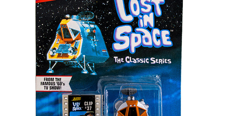 Johnny Lightning Car Lost in Space Space Pod