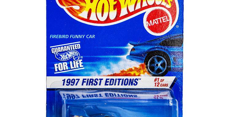Hot Wheels  1997 First Editions Firebird Funny Car