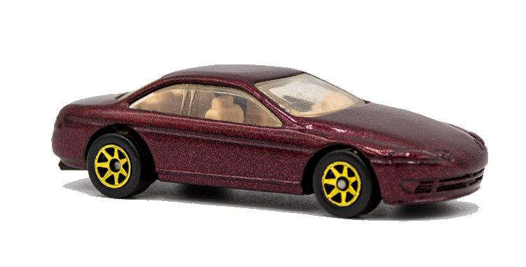 Hot Wheels Loose Fuchsia Sedan