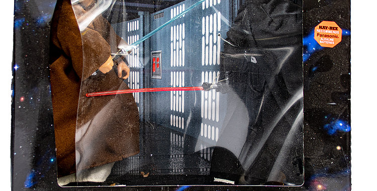 Star Wars 12 Inch Collectors Series  Obi-Wan Kenobi vs Darth Vader