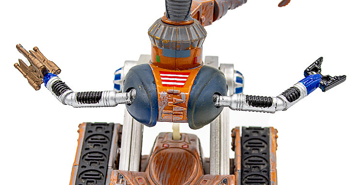 Sci-Fi Lost in Space Movie B-9 Robot