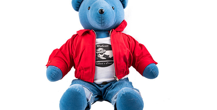 James Dean Bear 1990s made by North American Bear Co