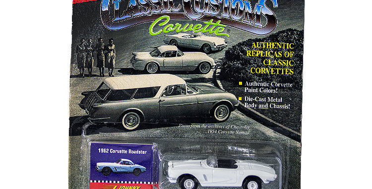 Johnny Lightning Car Classic Customs Corvettes 1 out of 15000 Sets Made