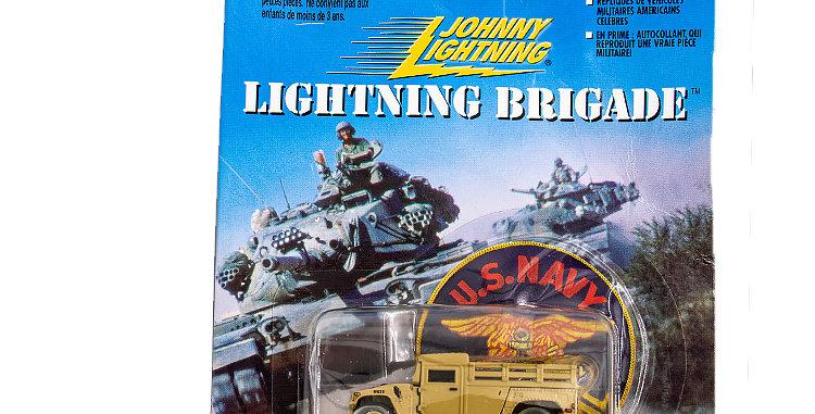 Johnny Lightning Lightning Brigade Hummvee Damaged Package