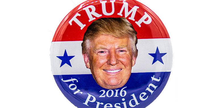 Donald Trump 2016 Campaign Button