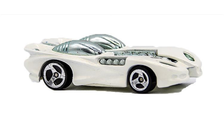 Hot Wheels Loose White Double Window vehicle