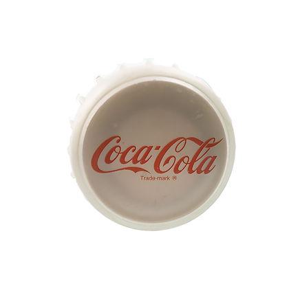 Coke Bottle Display 2 Foot Tall Glass 3.