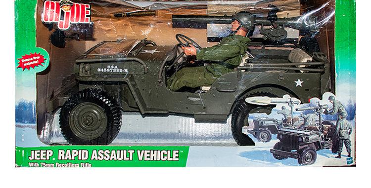 GI Joe  12 Inch Jeep Rapid Assault Vehicle