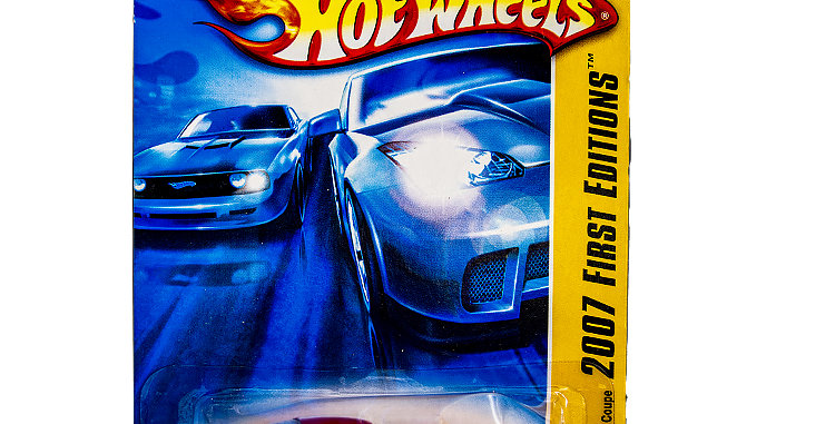 Hot Wheels 2007 First Editions  Shelby Cobra Daytona Red Coupe