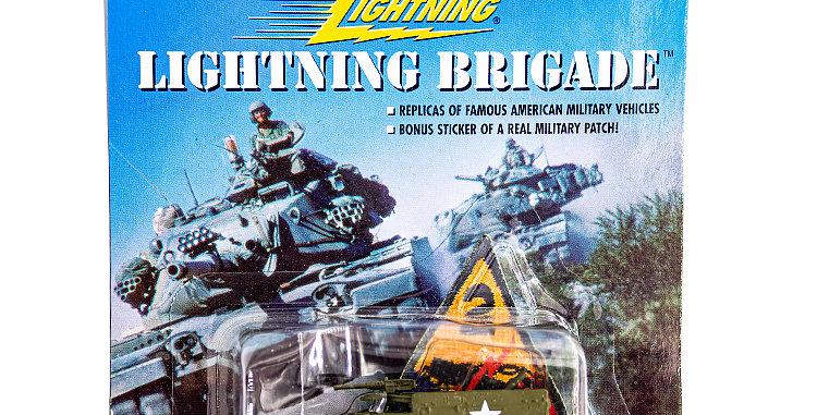 Johnny Lightning Lightning Brigade Halftrack
