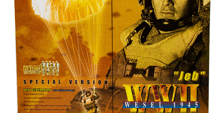 Dragon 12 Inch WWII Wesel 1945 17th Airbone Division Operation Varsity Jeb