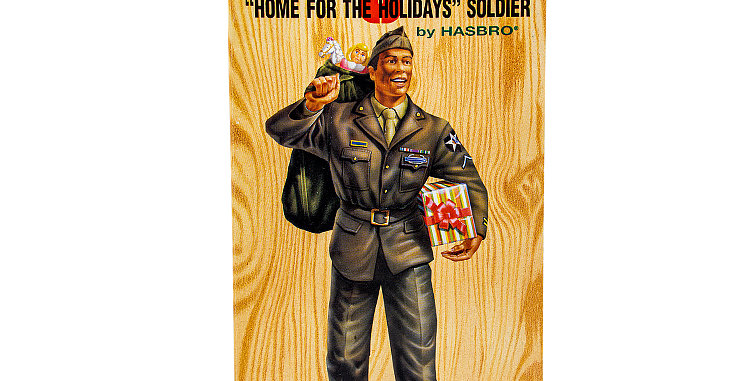 GI Joe 12 Inch Home for the Holidays Soldier