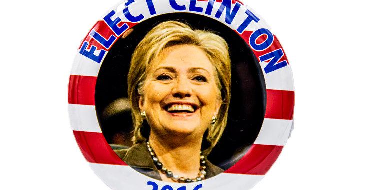 copy of Hilliary Clinton 2016 Campaign Button