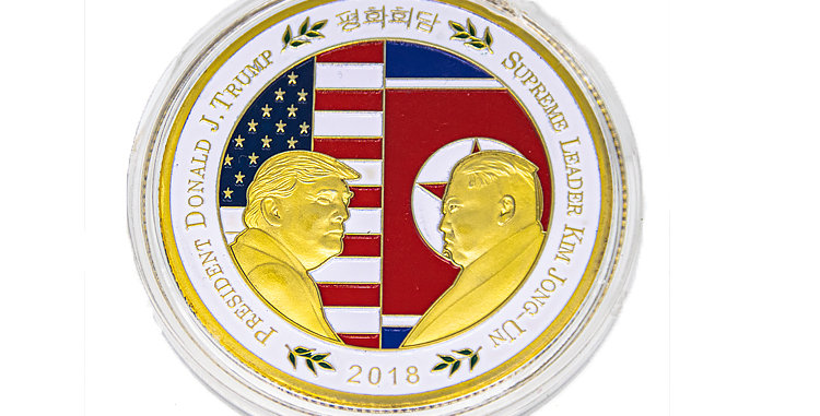 Challenge Coin President Trump North Korea