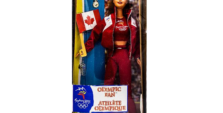 Barbie Canadian Olympic Fan