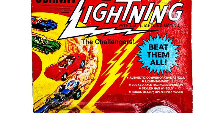 Johnny Lightning Car Commemorative Custom Turbine