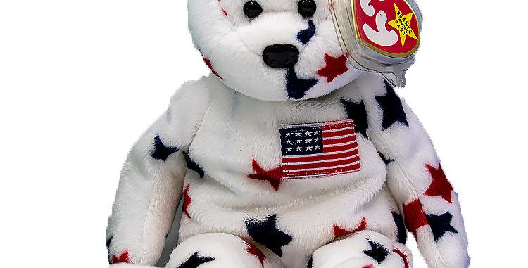 Beanie Babies  Glory  the  American Bear Beanie Baby