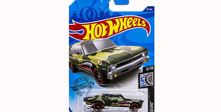 Hot Wheels 68 Chevy Nova