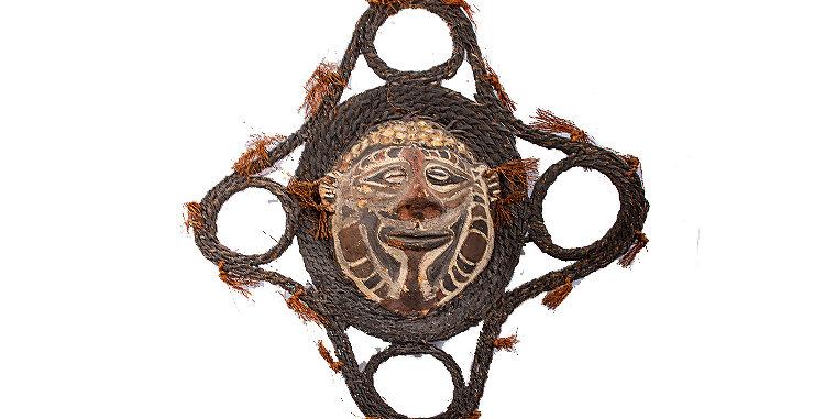 New Guinea Art Mask  1980s