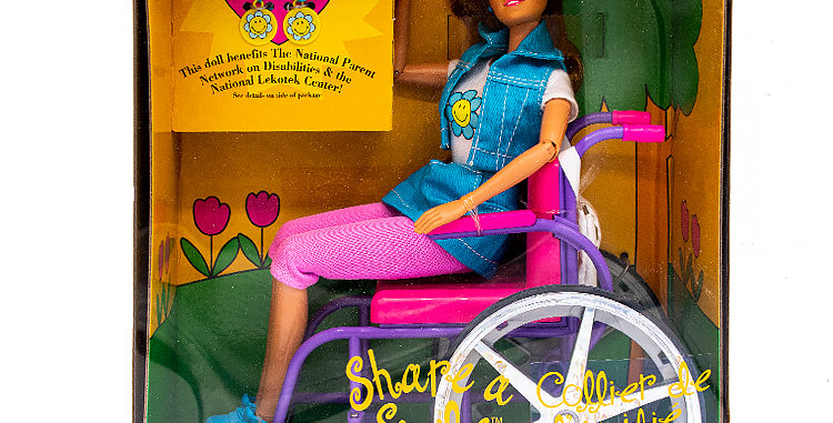 Barbie Becky With Wheelchair