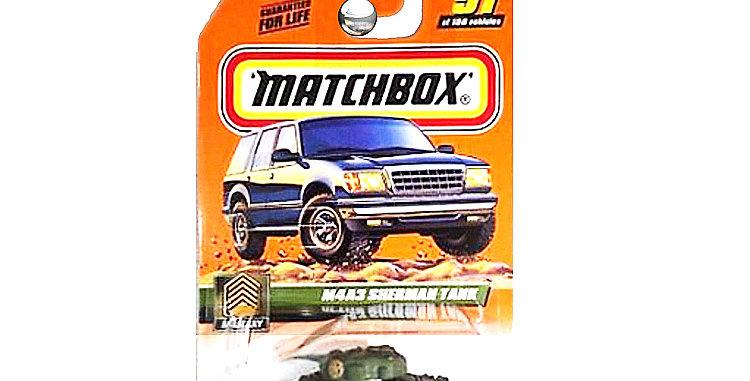 Matchbox  Sherman Tank