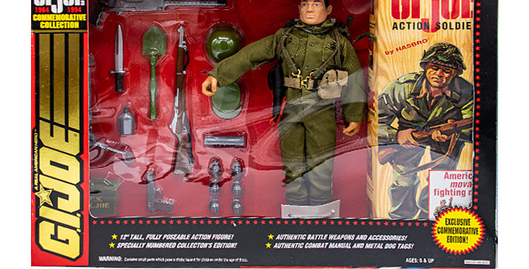 GI Joe Commemorative Collection 12 Inch Action Soldier