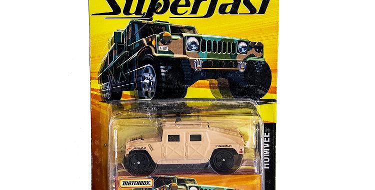 Matchbox Humvee Super Fast