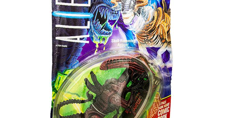 Sci-Fi Aliens Bull Alien. Card not in good shape.
