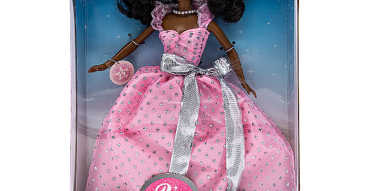 Barbie 35th Anniversary Afro -American Walmart exclusive