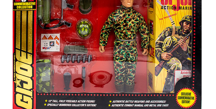 GI Joe Commemorative Collection 12 Inch Action Marine