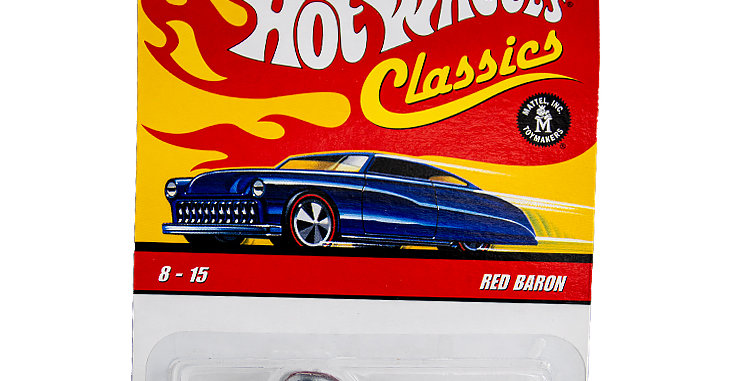 Hot Wheels 40th Anniversary Red Baron