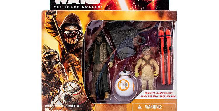 3.75 Inch Unkars Thug, BB8 Jakku's Scavenger set The Force Awakens