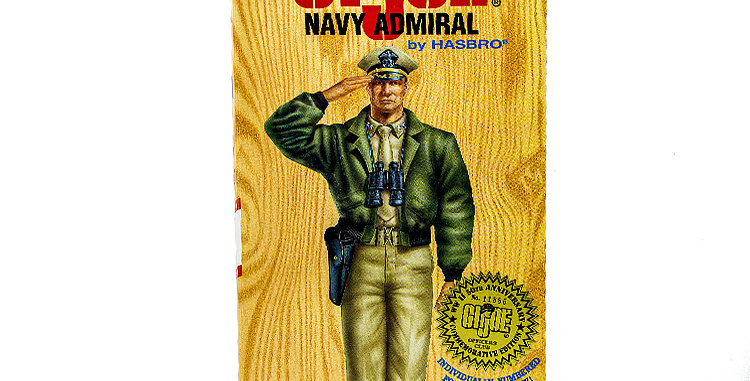 GI Joe 12 Inch Navy Admiral